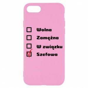 Etui na iPhone SE 2020 Szefowa