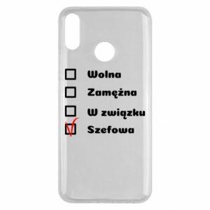 Etui na Huawei Y9 2019 Szefowa