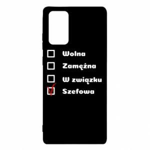 Etui na Samsung Note 20 Szefowa