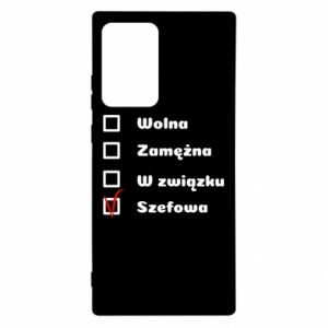 Etui na Samsung Note 20 Ultra Szefowa
