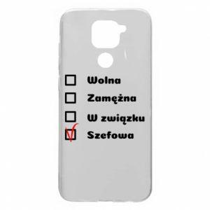 Etui na Xiaomi Redmi Note 9/Redmi 10X Szefowa