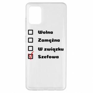 Etui na Samsung A51 Szefowa