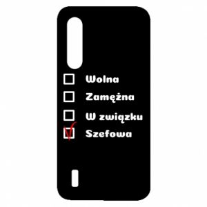 Etui na Xiaomi Mi9 Lite Szefowa