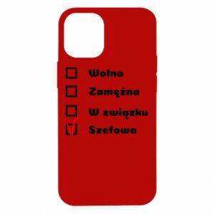 Etui na iPhone 12 Mini Szefowa
