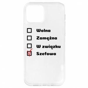 Etui na iPhone 12/12 Pro Szefowa