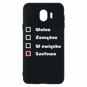 Phone case for Samsung J4 Boss - woman - PrintSalon