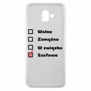 Phone case for Samsung J6 Plus 2018 Boss - woman - PrintSalon