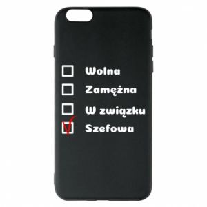 Etui na iPhone 6 Plus/6S Plus Szefowa