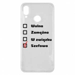 Etui na Huawei P Smart Plus Szefowa