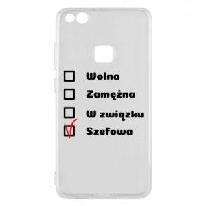 Phone case for Huawei P10 Lite Boss - woman - PrintSalon