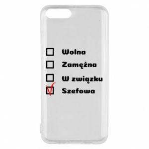 Phone case for Xiaomi Mi6 Boss - woman - PrintSalon