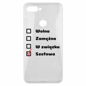 Phone case for Xiaomi Mi8 Lite Boss - woman - PrintSalon
