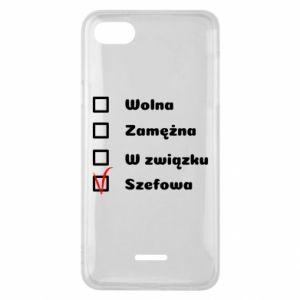 Phone case for Xiaomi Redmi 6A Boss - woman - PrintSalon