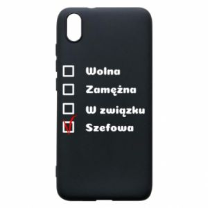 Phone case for Xiaomi Redmi 7A Boss - woman - PrintSalon