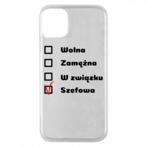 Etui na iPhone 11 Pro Szefowa