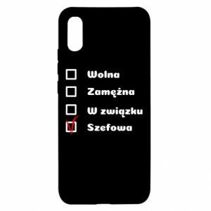 Etui na Xiaomi Redmi 9a Szefowa