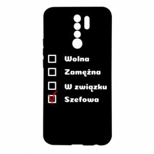 Etui na Xiaomi Redmi 9 Szefowa