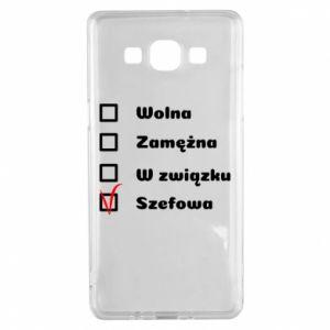 Etui na Samsung A5 2015 Szefowa