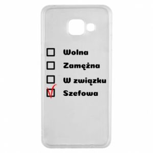 Etui na Samsung A3 2016 Szefowa