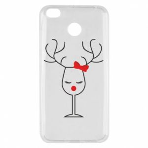 Xiaomi Redmi 4X Case Glass deer