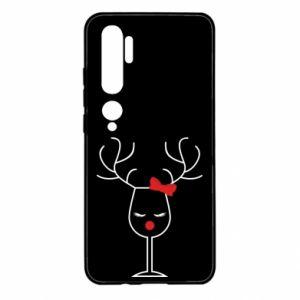 Xiaomi Mi Note 10 Case Glass deer