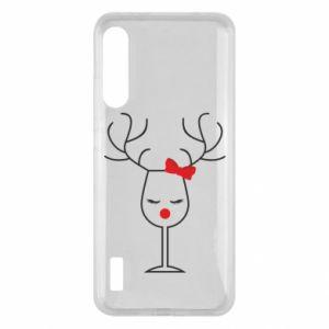 Xiaomi Mi A3 Case Glass deer