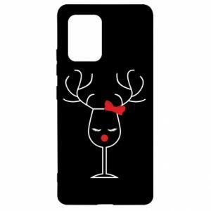 Samsung S10 Lite Case Glass deer