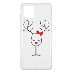 Samsung Note 10 Lite Case Glass deer