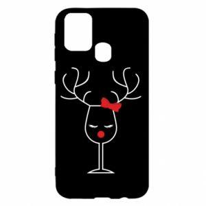 Samsung M31 Case Glass deer