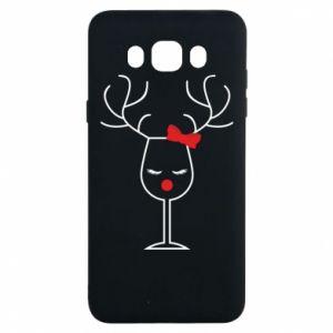 Samsung J7 2016 Case Glass deer