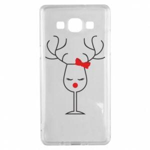 Samsung A5 2015 Case Glass deer