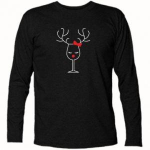 Koszulka z długim rękawem Szklany jeleń