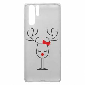 Huawei P30 Pro Case Glass deer