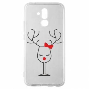 Huawei Mate 20Lite Case Glass deer