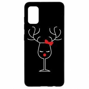 Samsung A41 Case Glass deer