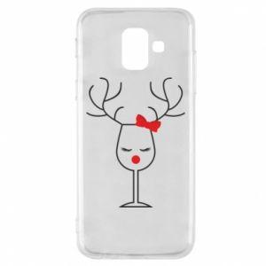 Samsung A6 2018 Case Glass deer