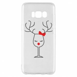 Phone case for Samsung S8 Glass deer