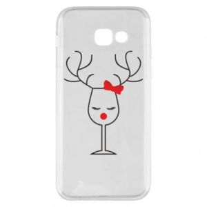 Phone case for Samsung A5 2017 Glass deer