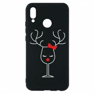 Phone case for Huawei P20 Lite Glass deer