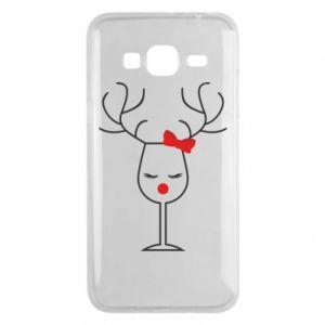 Phone case for Samsung J3 2016 Glass deer