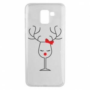 Phone case for Samsung J6 Glass deer