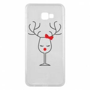 Samsung J4 Plus 2018 Case Glass deer