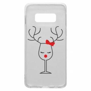 Samsung S10e Case Glass deer