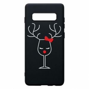 Phone case for Samsung S10+ Glass deer