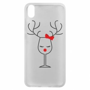 Phone case for Xiaomi Redmi 7A Glass deer