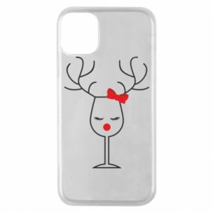 Phone case for iPhone 11 Pro Glass deer