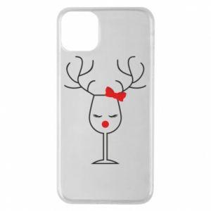 iPhone 11 Pro Max Case Glass deer