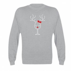 Kid's sweatshirt Glass deer