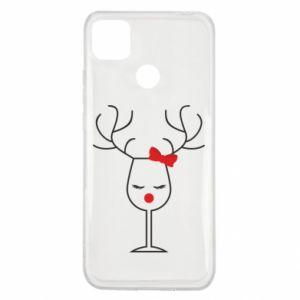 Xiaomi Redmi 9c Case Glass deer
