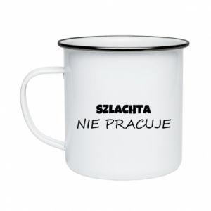 Enameled mug Nobility - PrintSalon